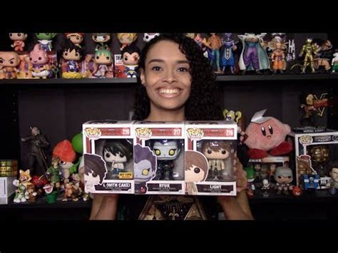 Death Note Pop Vinyl Haul! (L with Cake Exclusive!) - YouTube